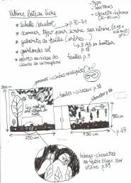 Croquis de recherche (par Sandrine)