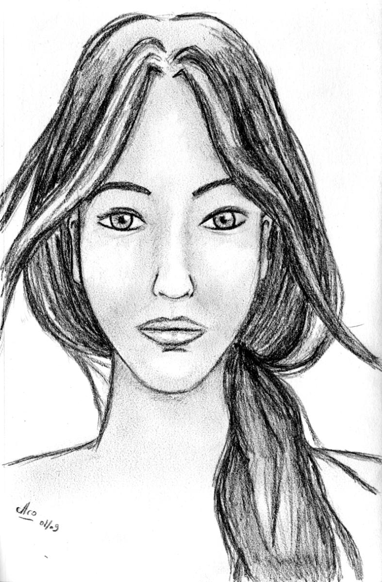 Croquis - Illustration - Caroline Dewaele - cAro igano
