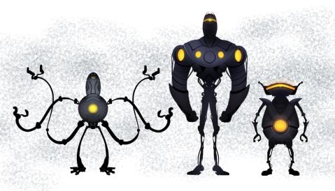 Essai de robot sous Sketchbook