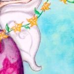 Fée Danseuse détail - Illustration - Caroline Dewaele - cAro igano