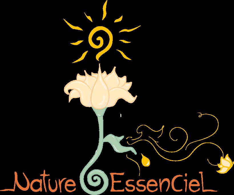 Logo - Nature EssenCiel - Caroline Dewaele - cAro igano