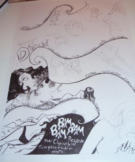 Clopinette détail - illustration - Caroline Dewaele - cAro igano