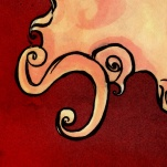Woman détail - illustration - Caroline Dewaele - cAro igano