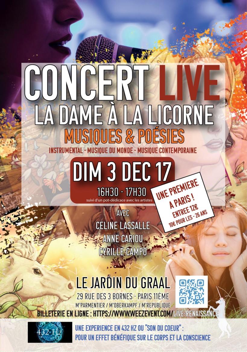 Dame à la Licorne - Céline Lassalle - Cyrille Campo - 432Hz