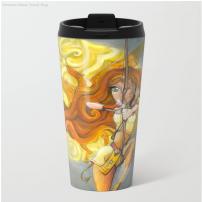 Amazone - Mug - Illustration - Caroline Dewaele - cAro igano