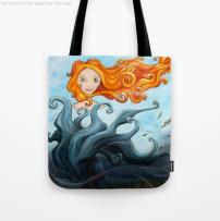 Dryade Arbre-Roi - Tote bag - Illustration - Caroline Dewaele - cAro igano