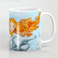 Dryade Arbre-Roi - Mug - Illustration - Caroline Dewaele - cAro igano