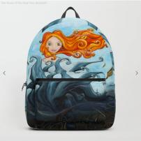 Dryade Arbre-Roi - Packback - Illustration - Caroline Dewaele - cAro igano