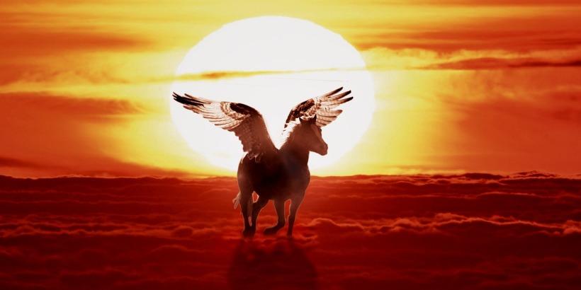 #1nuit1poeme - Pégase - Nuit sainte Scorpion Aigle