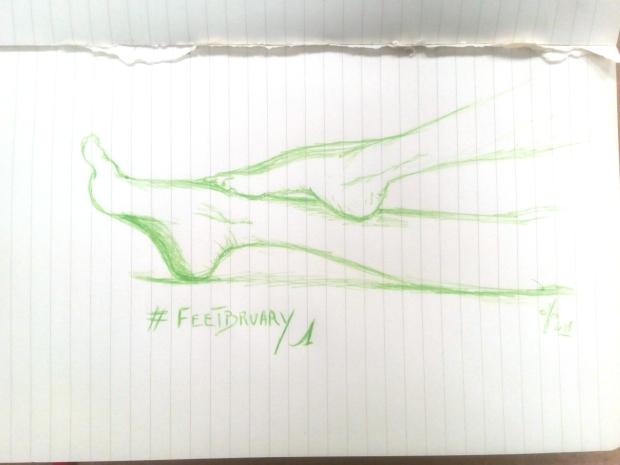 Feetbruary1 - cAro igano