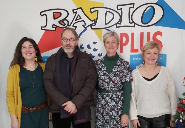 Caroline Dewaele, Jean-Yves Vincent, Mathilde Vanderrusten, Liliane Tilloy, RadioPlus